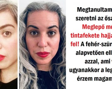 19 Hölgy, aki úgy döntött, hogy nem követi a szépség trendeket, és büszkék az ősz hajukra