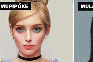 Egy művész megmutatja, hogyan nézne ki néhány Disney-karakter, ha valódi emberek lennének