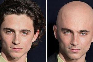 Hogyan nézne ki férfi 15 sztár, ha teljesen leborotválnák a hajukat