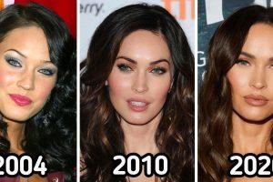 Hogyan változott 20 híresség azóta, hogy először reflektorfénybe kerültek
