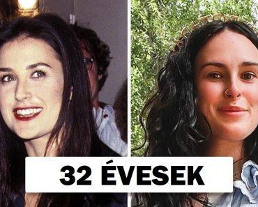 10 kép, amely igazolja, hogy a hírességek lányai ugyanúgy néznek ki, mint az anyukájuk ugyanannyi idősen