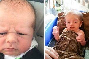 20 csecsemő, akik úgy néznek ki, mint akik felfedezték a fordított időutazást