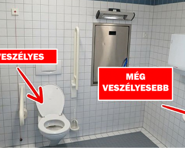 Megtudtuk, hogy a nyilvános WC-k valóban olyan veszélyesek-e, mint amilyennek tartják őket