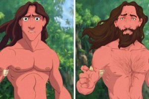 Hogyan nézne ki 10 rajzfilmfigura, ha reális teste lenne
