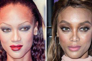 17 híresség előtte-utána fotói, amelyek megmutatják, hogyan változtatja meg a szemöldök az arcodat
