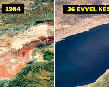 20+ kép, ami megmutatja, hogyan változott a bolygónk az elmúlt néhány évtizedben