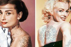 Elképzeltünk 20 hírességet tetoválással borított testtel, és az eredmény megbabonázott minket