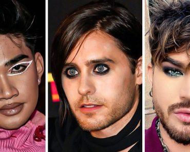 """14 férfi híresség, akik megmutatták nekünk, hogy a smink """"egy ruha, ami illik mindenkire"""""""