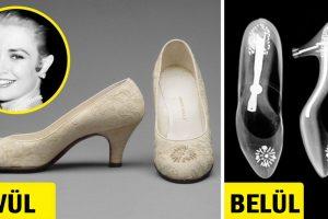 Grace Kelly esküvői cipőjének röntgenfelvétele egy kevéssé ismert tényt fedez fel a monacói hercegnőről