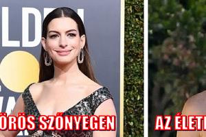 16 híresség, akik ragyognak a vörös szőnyegen, és úgy néznek ki, mint mi a mindennapokban