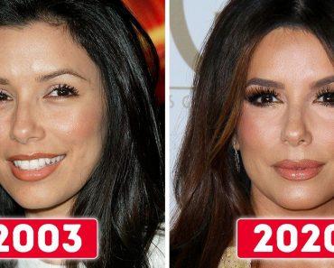 10+ női híresség előtte-utána fotója, amelyek bebizonyítják, hogy a nők kivirágoznak a korral