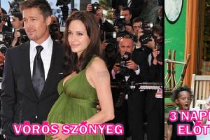 Így nézett ki 18 híres nő a vörös szőnyegen és a való életben terhességük alatt