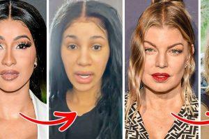 15+ Híresség, akik megmutatták, hogyan néznek ki smink nélkül, és hagyták ragyogni természetes szépségüket