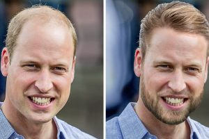Hogyan néznének ki a királyi családtagok, ha tökéletesen megfelelnének a modern szépségszabványoknak