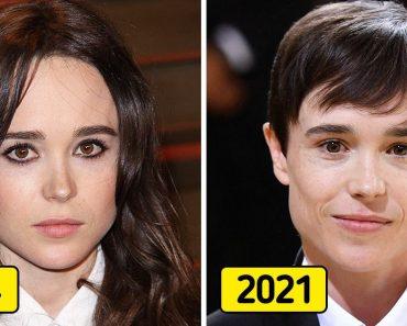 15+ híresség, akik a felismerhetetlenségig megváltoztak az elmúlt évtizedben